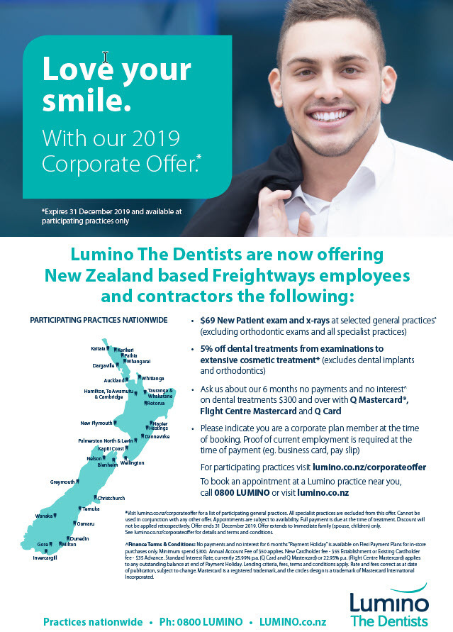 NZ - Love Your Smile with Lumino The Dentists